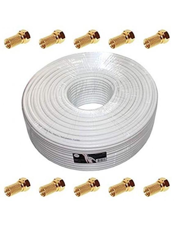 Koaxial-Kabel, 90 dB 100m