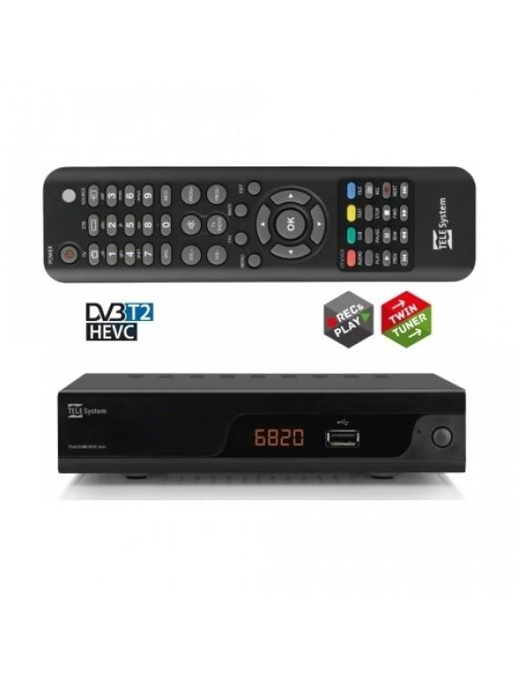 TS6820 DVB-T2 HEVC TWIN