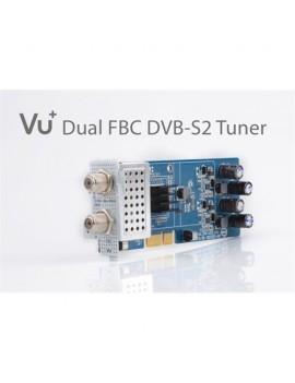 VU+ DVB-S2 FBC Tuner Dual