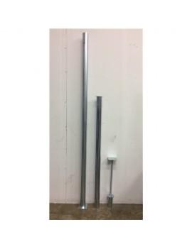 Balkongfäste - Justerbar 245cm - 280cm