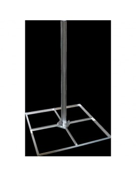 Flyttbar Markstativ 1m x 4 x 30mm