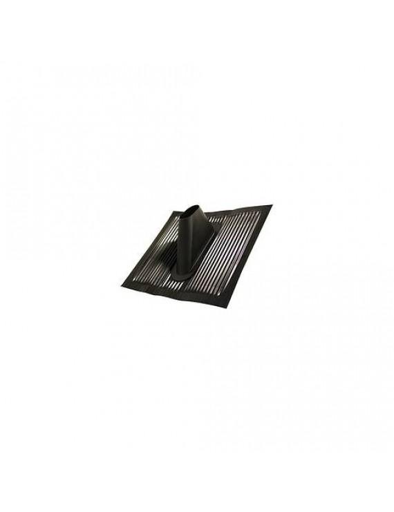 Takpanna aluminium svart