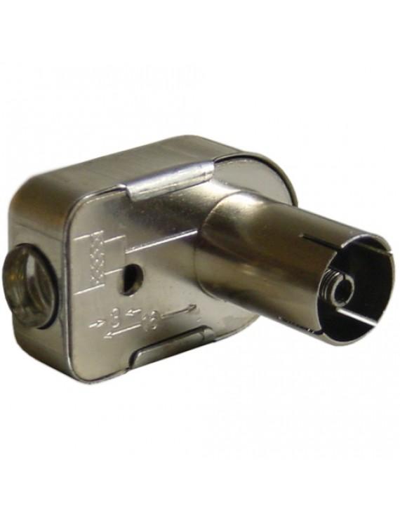 IEC-kontakt metall HONA skruv vinkel