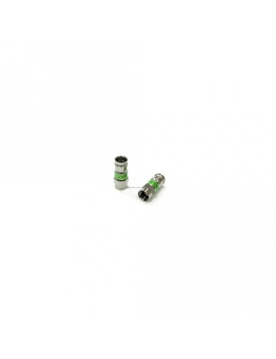 Kontakt F-hane compression, (1,0/4,8), PCT-TRS9L grön