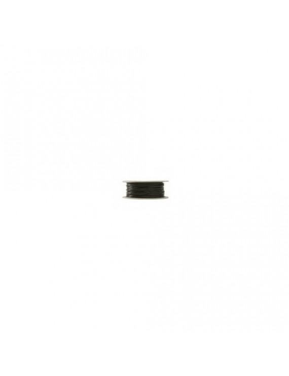 Kabel RG-6T (1,0/4,6) tr-skärm,svart PE,100m plastbobin