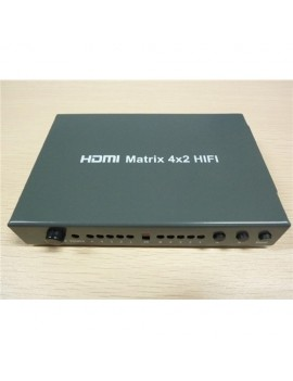 HDMI Matrix 4x2 Hifi-Audio