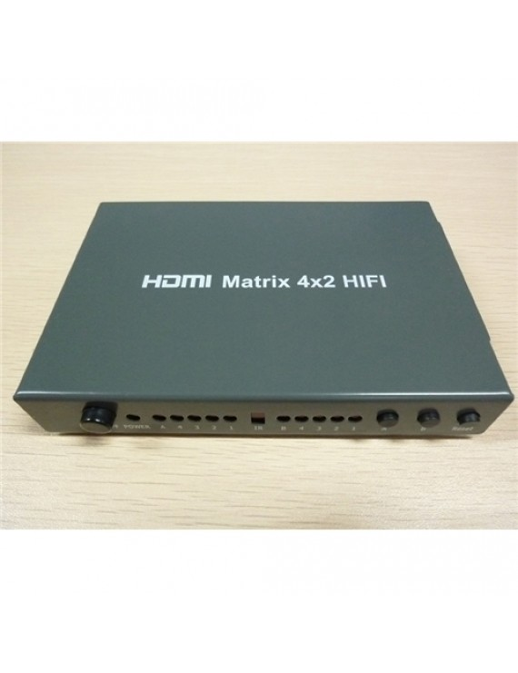 HDMI Matrix 4x2 Hifi-Audio