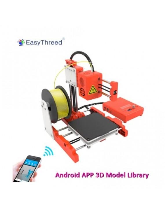 3D-skrivare Easythreed X2 Wifi App + 2 rullar PLA