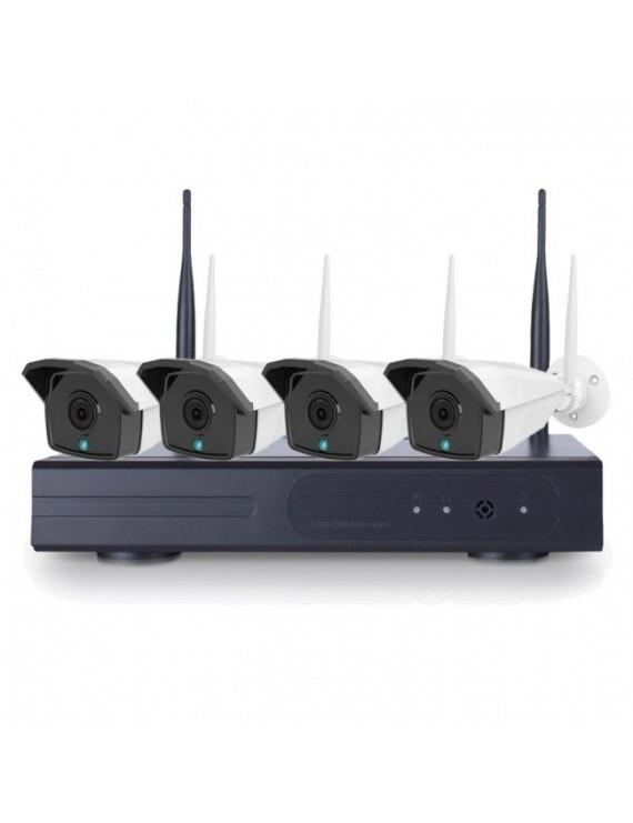 Övervakning NVR system Kamera Kit NVR-K440, 4 st 4.0 MP HD kameror