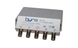 Hyro-4-Vägs DiSEqC Switch