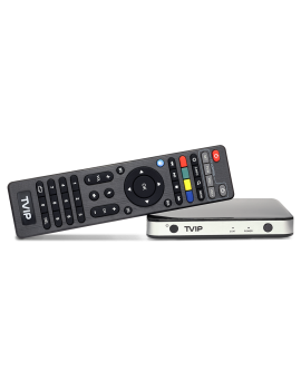 TVIP S-Box 605 HD Box Android & Linux 4K Med WiFi 2,4/5 GHz