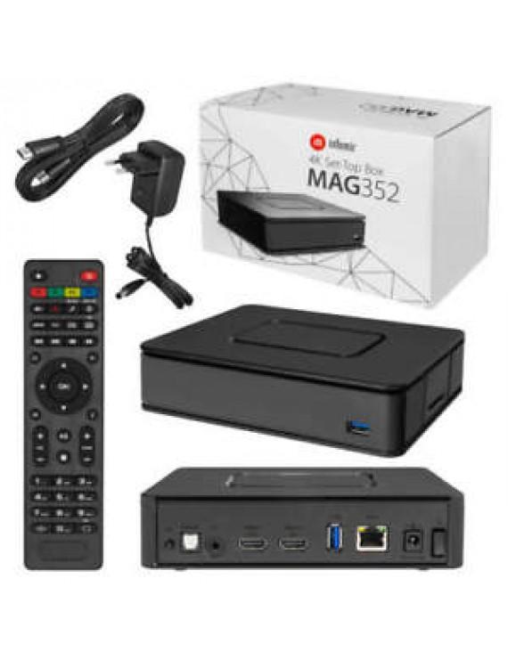 infomir MAG 351-352 4k - IPTV OTT Box (Original)
