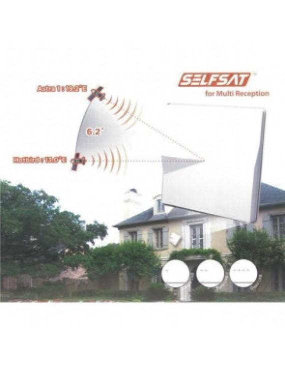 Selfsat H50M4 Quad Norden LNB