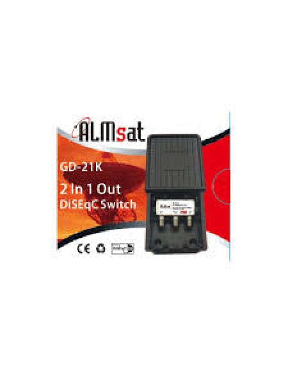 Almsat DiSEqC switch 2/1